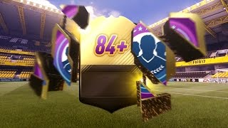 GREAT 10 x 84+ IN FORM PACKS w/ WALKOUT! FIFA 17 ULTIMATE TEAM PACK OPENING