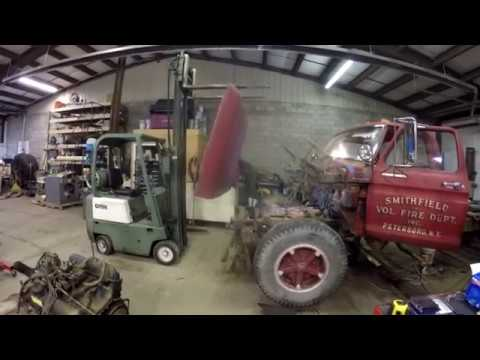 Ford F750 Haul Truck Build Part 12