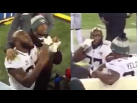 Jaguars Leonard Fournette THREATENS To BEAT Up Titans Fan Imma Beat Your ASS!