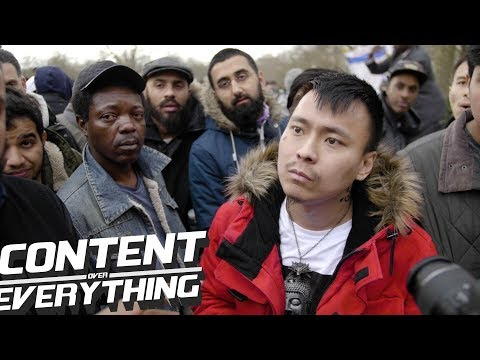 Tan Questioned About His Issues With Muslims & Islam | Speakers Corner Hyde Park