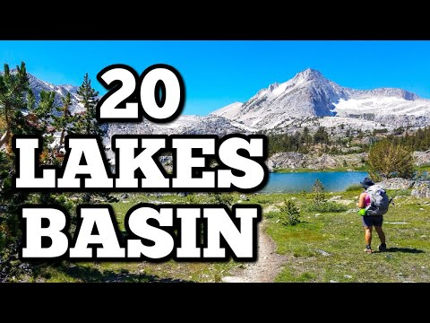 Backpacking & Fishing The 20 Lakes Basin - Inyo National Forest - Eastern Sierra Fishing