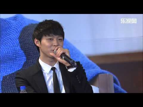 """[LETV] 130111 Yuchun Beijing Media Day - """"Miss You"""" My Chinese Fans (interview full ver)"""