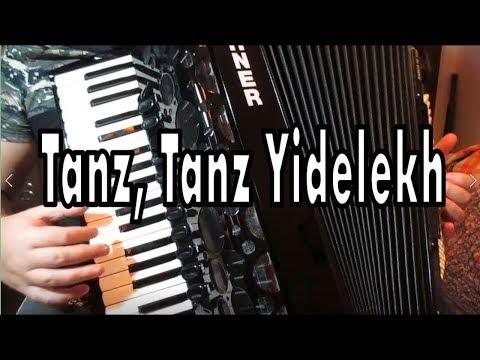 Akordeonda Egzotik Parçalar 4 Tanz, Tanz Yidelekh - Murathan Akordeon