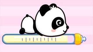 Repeat youtube video Baby Panda Care, Game For Kids   App gameplay video by Babybus