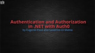 cnug    authentication and authorization in net with auth0