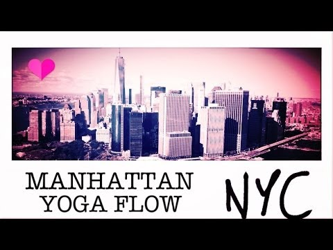 55 min Yoga Flow Total Body Tone, Arms, Abs, Legs, Open Hips | Manhattan Flow NYC