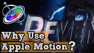 Apple Motion, What is it Used for
