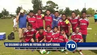 Se celebró campeonato de fútbol infantil en Cape Coral