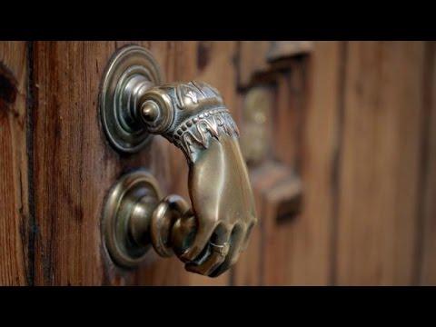 Дверь в старинном стиле - часть 1