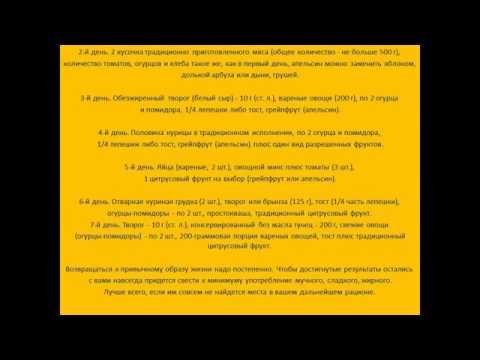 Яичная диета на 4 недели: плюсы, минусы и полное меню