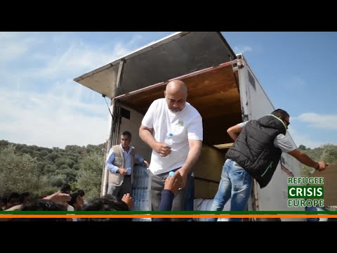 Refugee Crisis Europe: Muslim Charity's work in Greece