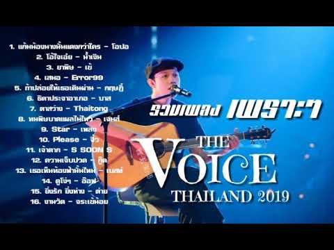 รวม เพลง เพราะ the voice thailand