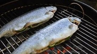 How To Cook Rainbow Trout On The Grill (easy Recipe)