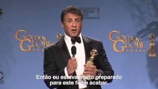 TNT | Sylvester Stallone no #GoldenGlobeNaTNT