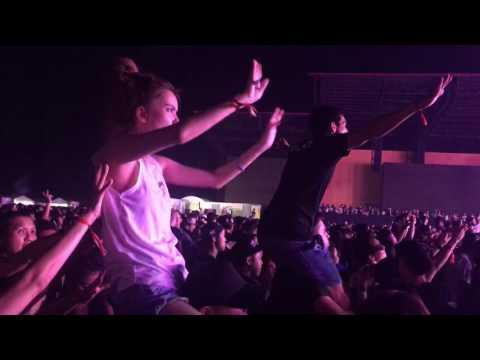 Zeed Live @ 808 festival in Pattaya - Thailand 2016 [Part 1]