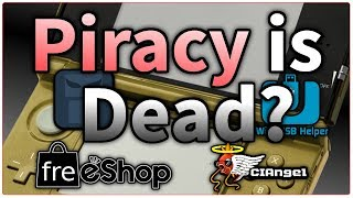 Its My Birthday & Nintendo Killed the freeShop // 2300 Titles Blocked from Villian3ds, Ciangel....