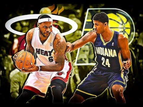NBA Eastern Conference Finals 2014: Miami Heat vs Indiana Pacers Preview-Predicition