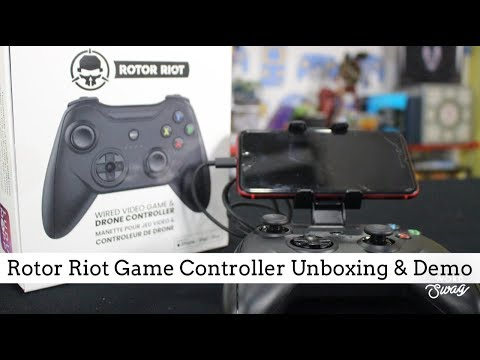 Rotor Riot Game Controller | Unboxing & Demo