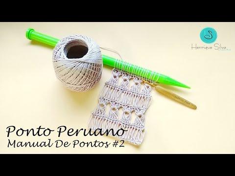 Crochê Peruano - Manual De Pontos 2 - Henrique Silva TV