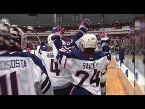 Gold Medal Moments Presented By HERSHEY'S | Team USA Women's Hockey Wins Gold In 1998