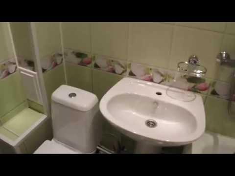 Отделка панелями ПВХ ванной, кухни и прихожей (эконом вариант)