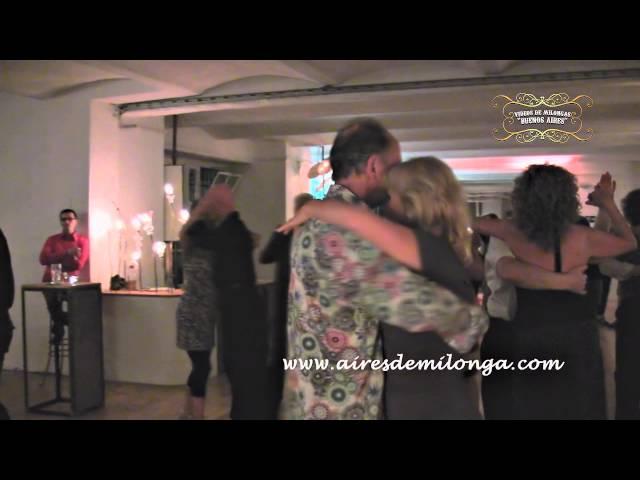 Berlin, tango dancers in Bebop Tangobar, Germany