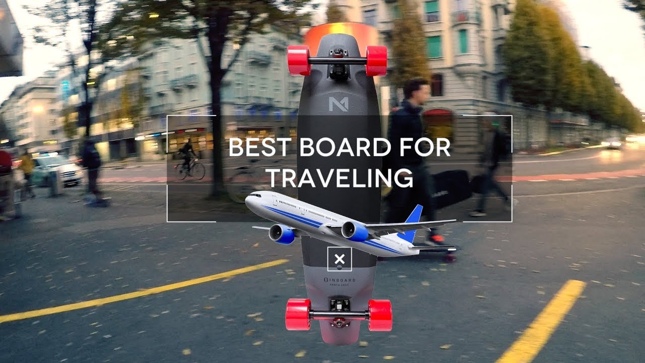 Best Electric Skateboard For Traveling  YouTube