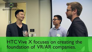 HTC Vive X Jeff Lin about where to focus in VR space
