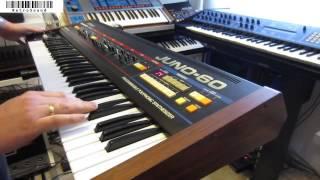 Roland Juno-60 Vintage Analog Synthesizer (1982)