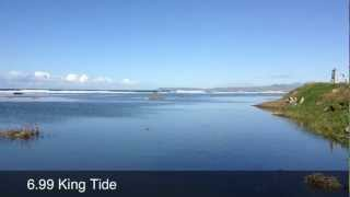 King Tide - Morro Strand Beach Ca.