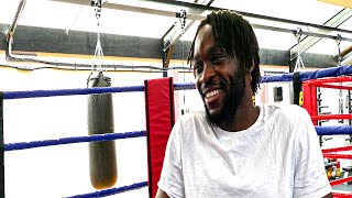 Denzel Bentley - 'FELIX CASH done his thing but I still want to be WORLD CHAMP'
