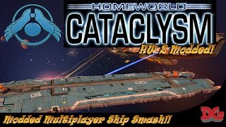 Homeworld 2 Remastered ► Cataclysm MOD!! Multiplayer Multiplayer Ship Smashing!