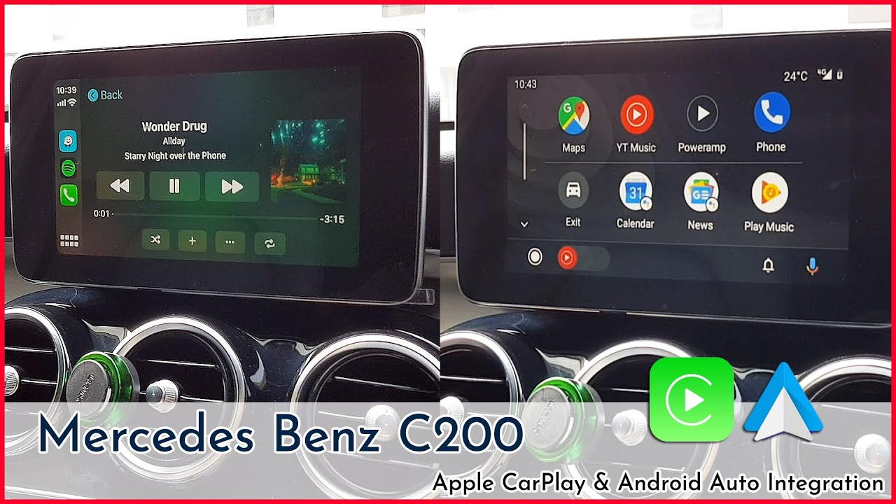 mercedes w205 android auto