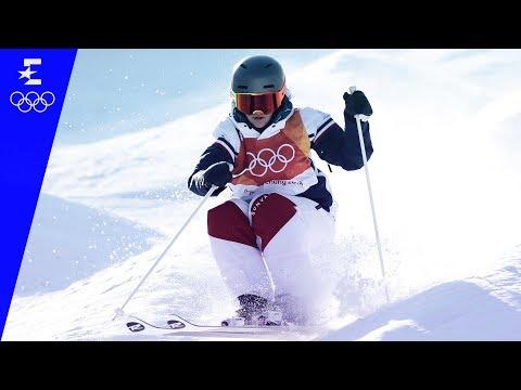 Freestyle Skiing   Ladies' Moguls Highlights   Pyeongchang 2018   Eurosport