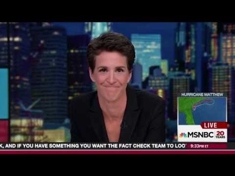 Rachel Maddow - Reaction on Election 2016