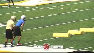 All Out Recruiting - Josh Pantaleon - Appalachian State University Football Camp 2012