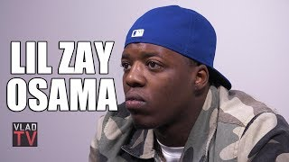 Lil Zay Osama Agrees with Boosie: You Can't Be a Gangster and a Rapper at the Same Time (Part 4)