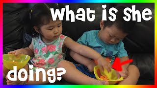 #033 Potty Training Fail 😖🚽; Eating While Sleep 😂- BabiesZfunTime
