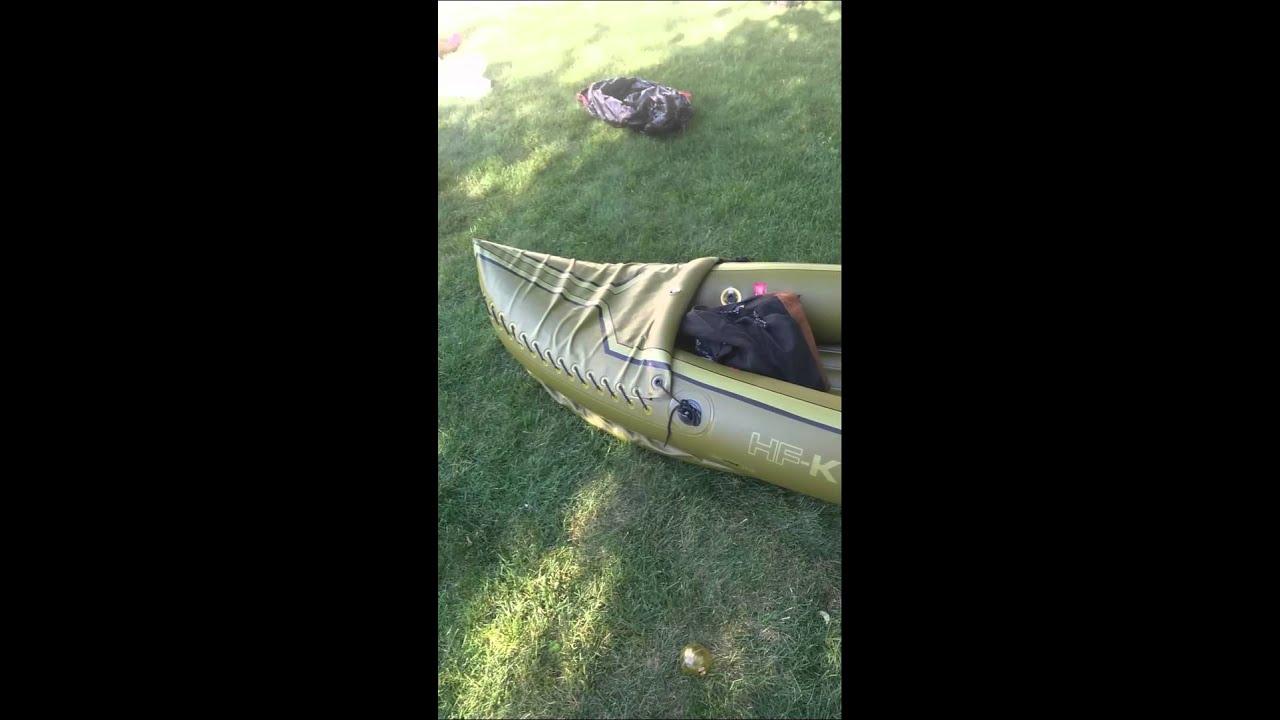 Tahiti Fishinghunting Inflatable Kayak