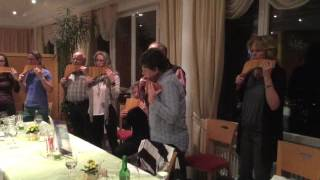 Herford and Dinner PANFLUTE SEMINAR SWITZERLAND