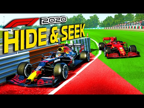 Formula 1 HIDE & SEEK! We LOSE & Hiders WIN! New Game Mode on the F1 2020 Game?! |