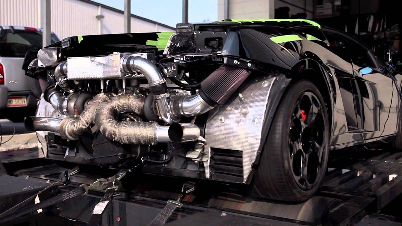 Lamborghini gallardo twin turbo kit