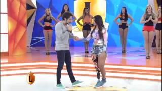 Bailarina sem uma perna dá show no Legendários e vira exemplo de superação #arquivolegendários