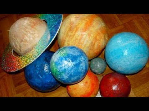 How To Create a Paper Mache Solar System – DIY Crafts Tutorial – Guidecentral