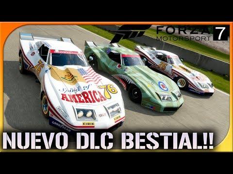 NUEVO DLC!! NISSAN PROTOTIPO Y CORVETTE MOSNTER!   FORZA MOTORSPORT 7 #34   DEWRON