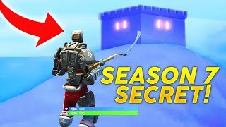 Season 7 SECRET CHANGES in Fortnite Battle Royale! (AIM SKIN STORY LINE and NEW ICEBERG UPDATE)