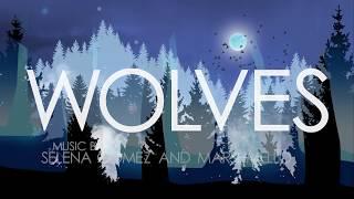 Selena Gomez, Marshmello - Wolves (Animated Music Video)