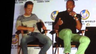 Anthony Mackie & Sebastian Stan Inteview at Wizard World Chicago Comic Con 2014