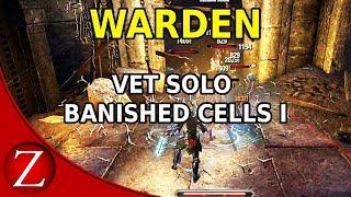 Solo Vet Banished Cells - The Elder Scrolls Online Morrowind PC Gameplay