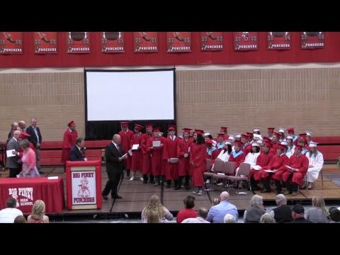 Big PIney High School 2018 Graduation